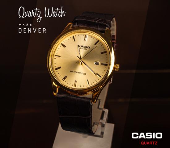 ساعت مچی CASIO مدل Denver (مشکی)
