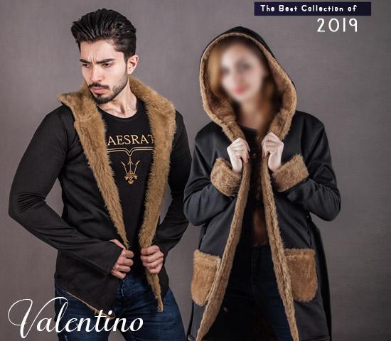 ست هودی مردانه و زنانه Valentino