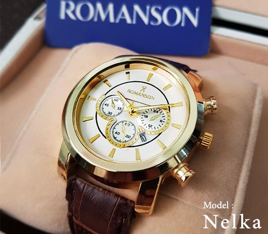 ساعت مچی Romanson مدل Nelka (صفحه سفید)