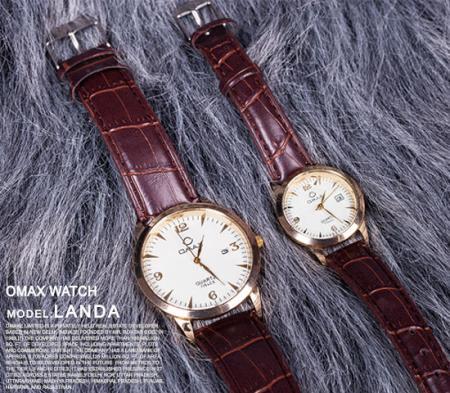 ست ساعت مچی مردانه و زنانه Omax مدل Landa