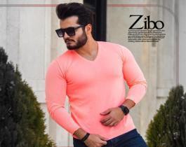 بافت مردانه مدل Zibo (گلبهی)
