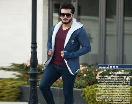هودی خزدار مردانه مدل Jano (تمام خز)