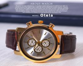ساعت مچی Romanson مدل Otela(بند قهوه ای)