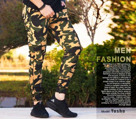 شلوار اسلش ارتشی مردانه مدل Yasha