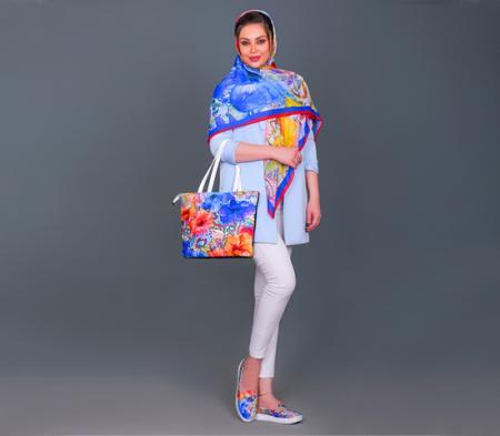 پکیج کیف وکفش وروسری دخترانه مدل Golin