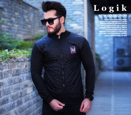 کاپشن مردانه مدل Logik