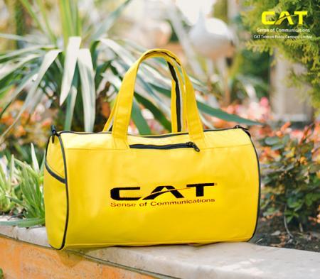 ساک ورزشی CAT مدل Simson (زرد)