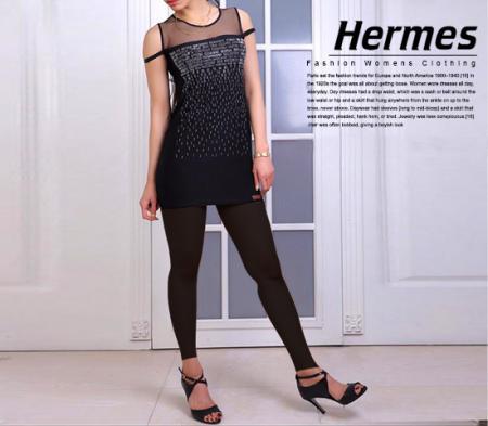 تاپ دخترانه مدل Hermes (مشکی)
