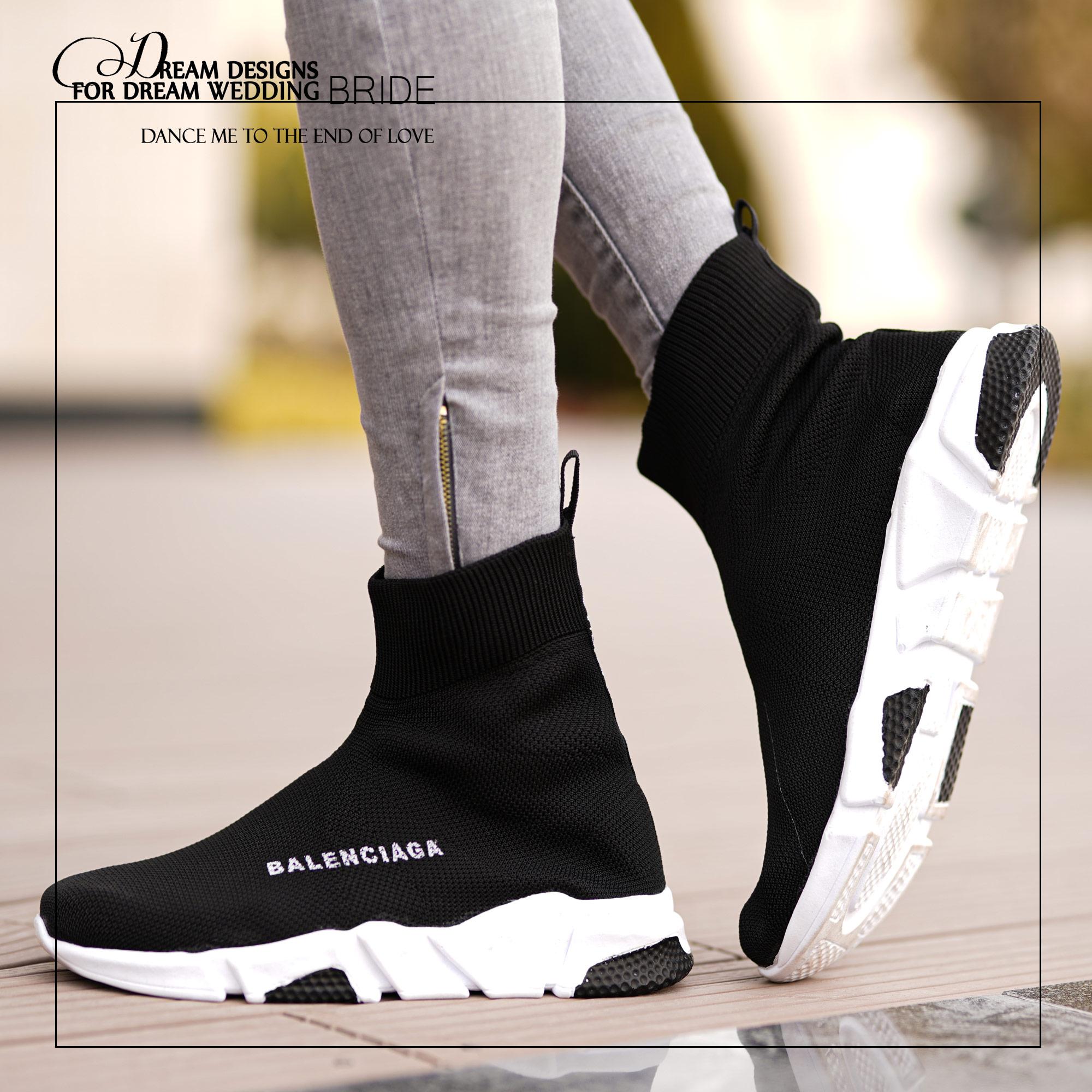 کفش ساقدار مدل Opta (مشکی)