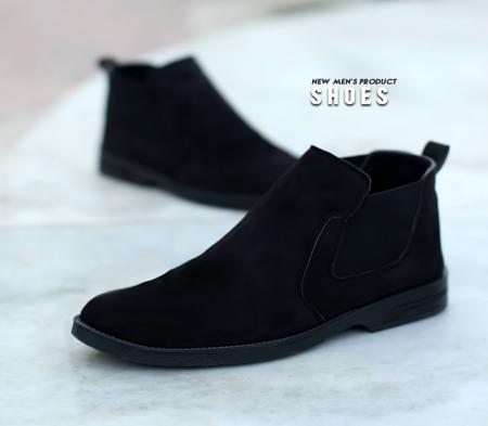 کفش ساقدار مردانه Mita(مشکی)