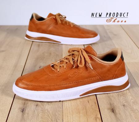 کفش مردانه مدل Depay (قهوه ای روشن)