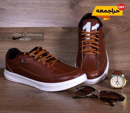 کفش مردانه Nikeمدل eleven(قهوه ای)
