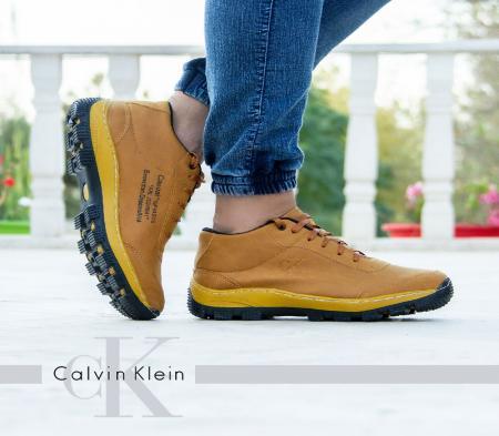 کفش مردانه CK مدل Norbert (عسلی)